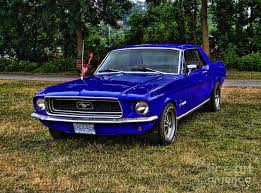1967 blue mustang 1967 ford mustang blue car autos gallery