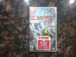 lego ninjago movie video game nintendo switch new fast boxed