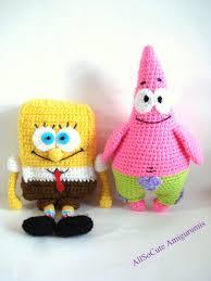 pattern spongebob and patrick star pattern crochet tutorial