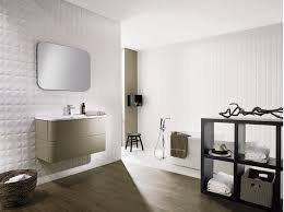 wall treatment for fireplace bathroom from porcelanosa tiles