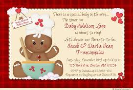 cookie baby shower invitations sweet holiday joy