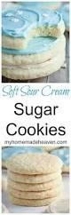 soft sour cream sugar cookies my homemade heaven