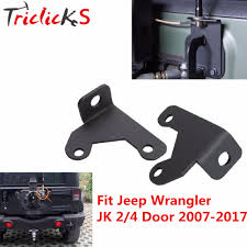 jeep new black triclicks new black stainless steel cb antenna mount holder