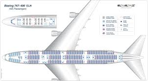 Air China Seat Map by F 3236 A 744 455 Pax U003delh Jpg