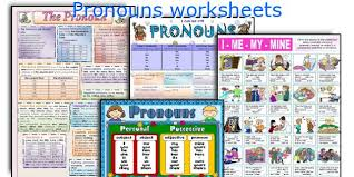 english teaching worksheets pronouns