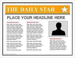 microsoft powerpoint newspaper template newspaper template 42