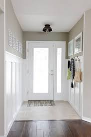 wainscoting on one wall it is possible diy pinterest
