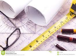 free architectural design house plan blueprint architect design royalty free stock image