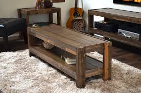rustic reclaimed pallet wood style entertainment center tv stand