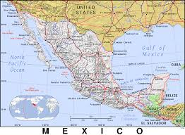 Mexico Maps Mx Mexico Public Domain Maps By Pat The Free Open Source