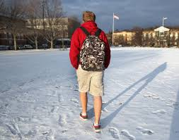 for middle and high school boys winter s chill means one thing