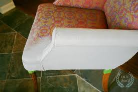 How To Remove Paint From Upholstery Painted Upholstered Chair Tutorialdiy Show Off U2013 Diy Decorating