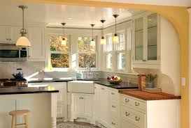 interior design corner sink with counter stools and frame and