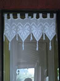 cenefas de tela para cortinas mar祗a en lonqu礬n una cortina peque祓a a small curtain