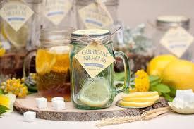tea favors cozy and sweet diy jar tea wedding favors weddingomania
