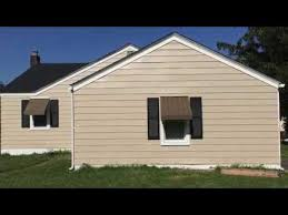 Exterior Paint For Aluminum Siding - painting aluminum siding exterior house restoration youtube
