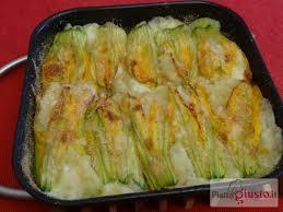 ricette con fiori di zucchina al forno fiori di zucca ripieni di patate al forno il piatto giusto