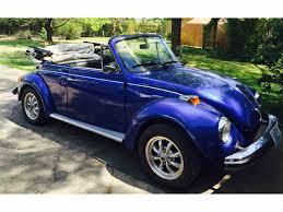 blue volkswagen convertible 1976 volkswagen convertible super beetle for sale classiccars