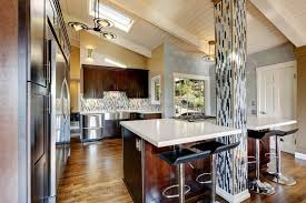 kitchen islands with columns 111 luxury kitchen designs home designs