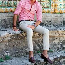 what goes with pink how to wear a pink shirt the idle man