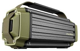 Rugged Outdoor Dreamwave Tremor Army Green Black Aluminum Wireless