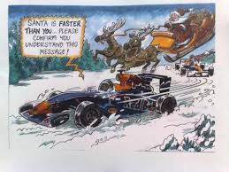 red bull funny interest christmas cardpicture of auto design