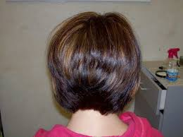 back view of medium styles pictures of back view stacked bob hairstyle hairstyles by unixcode