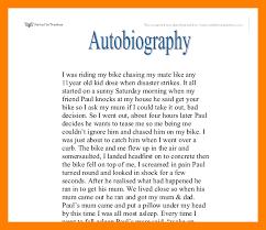 resume for student teachers exles of autobiographies 4 autobiographies exles students resume
