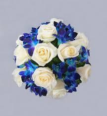 blue orchids blue orchids bouquet in san jose ca valley florist
