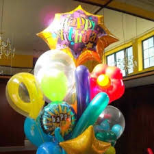 balloon delivery service bunch bouquet in nc balloon and party service