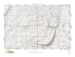 Minnesota Topographic Map Big Sioux River Rock River Drainage Divide Area Landform Origins