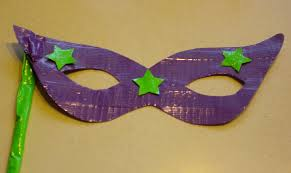 craft duct tape mardi gras masks macaroni kid