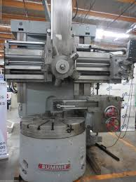 summit sc14 vertical boring turret lathe machinestation