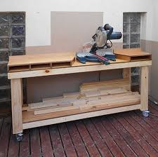 mobile miter saw stand plans rest satisfied with doing well and