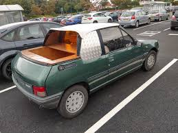 a peugeot a peugeot 205 pick up concept by pininfarina shitty car mods