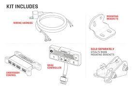 Led Light Bar 50 by Rigid Industries 25041 Adapt Sae 50