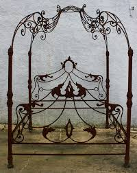 Wrought Iron Canopy Bed Best 25 Iron Canopy Bed Ideas On Pinterest Curtains Regarding New