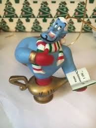 genie from aladdin disney grolier christmas magic ornament ebay