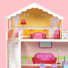 49 Best Images About Dollhouse by Best Choice Products Large Childrens Wooden Dollhouse Fits Barbie