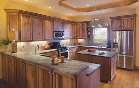 Hickory Kitchen Cabinets Make A Hickory Kitchen Cabinets