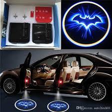 2018 wireless led car door light batman welcome l laser ghost