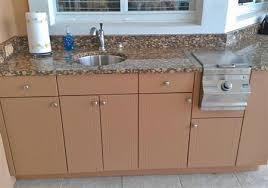 Outdoor Kitchen Cabinets Polymer Premium Polymer Outdoor Kitchen Cabinets Tampa Bay Area