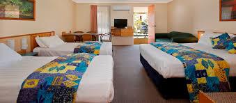 open plan family room gundagai accommodation