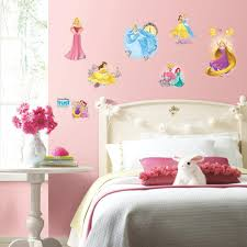 roommates 5 in x 11 5 in glitter butterflies peel and stick wall 5 in x 11 5 in disney princess friendship adventures 25 piece peel