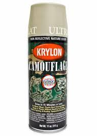 Krylon Transparent Spray Paint - krylon camouflage fusion spray paints primers lacquers