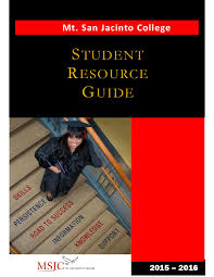student resource guide 2015 2016 by mt san jacinto college issuu
