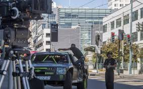 monster truck show tacoma dome stunt driving filming takes over downtown tacoma the news tribune