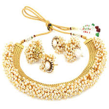 image necklace images Youbella exclusive gold plated pearl studded traditional temple jpg