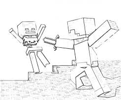 hero brian minecraft coloring pages coloring pages kids