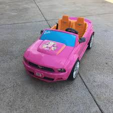 pink power wheels mustang find more power wheels mustang car for sale at up to 90